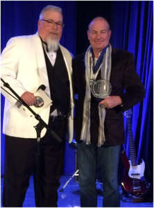 Master of Ceremony for HOF Bryan Church with Sieleman.